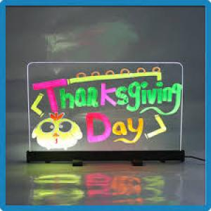 led writing bord
